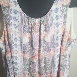 Tank top blouse